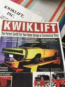 Kiwiklift Car Lift Great For Personal Garages Body Shops Detail Shops