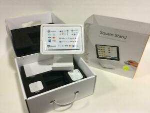 Square Stand For Contactless Chip With Reader And Dock A sku 0273 New