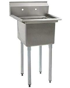 Eagle Group Blendport 18x18 1 Compartment Stainless Steel Economy Sink