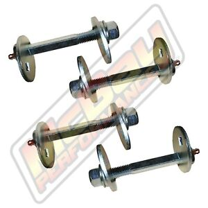 Front Alignment Greaseable Camber Caster Cam Bolt Kit Set 1997 2003 F150 2wd 4x4