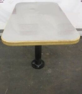 Restaurant Equipment 42 X 24 Table Stainless Top Patio Base