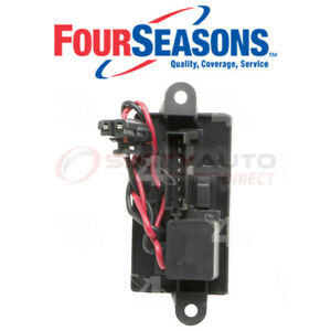 Four Seasons Hvac Blower Motor Resistor Block For 2002 2005 Chevrolet Sm