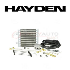 Hayden Oil Cooler For 1997 Chevrolet P30 5 7l 7 4l V8 Engine Cooling Ea