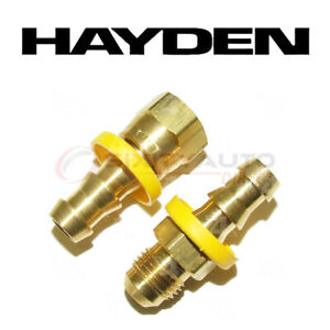 Hayden Transmission Oil Cooler Line Connector For 1999 2003 Dodge Ram 1500 Sp
