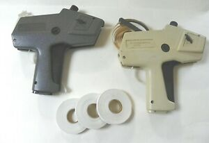 2 Price Gun Label Makers Avery Monarch 1110 1105