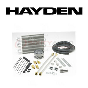 Hayden Oil Cooler For 1997 Chevrolet P30 5 7l 7 4l V8 Engine Cooling Cw