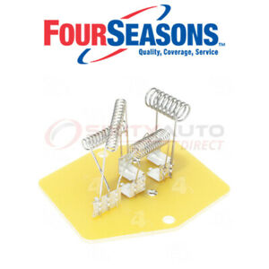 Four Seasons Hvac Blower Motor Resistor Block For 1995 2000 Chevrolet K2500 Sm