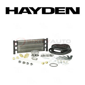 Hayden Oil Cooler For 1988 1989 Ford F59 7 3l V8 Engine Cooling System Qr