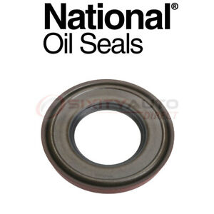 National Auto Transmission Torque Converter Seal For 1984 1988 Pontiac Fiero Zy