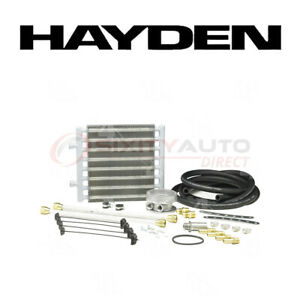 Hayden Oil Cooler For 2003 Chevrolet C6500 Kodiak 8 1l V8 Engine Cooling Oj