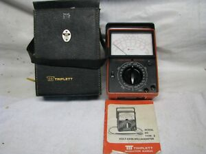 Triplett Model 60 Milliammeter