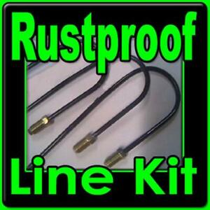 Chevrolet And Gmc Truck Brake Line Kit For 1967 To 1997 Coated Rustproof Lines
