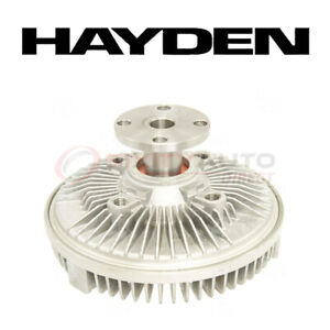 Hayden Cooling Fan Clutch For 1992 1993 Chevrolet K1500 Suburban 5 7l V8 Zx