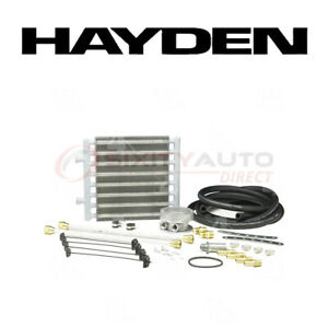 Hayden Oil Cooler For 1988 1989 Ford F59 7 3l V8 Engine Cooling System En