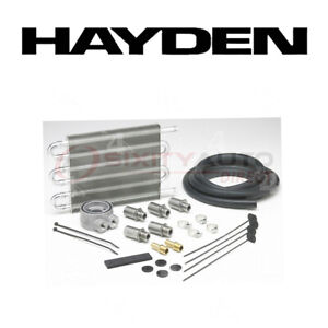 Hayden Oil Cooler For 2002 2005 Jeep Liberty 2 4l L4 Engine Cooling System Pl