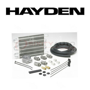 Hayden Oil Cooler For 2005 2008 Cadillac Escalade 5 3l 6 0l 6 2l V8 Engine Lq