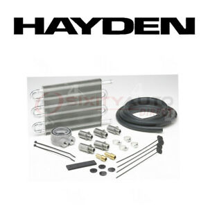 Hayden Oil Cooler For 2001 2005 Ford Escape 2 0l 3 0l L4 V6 Engine Cooling Mr
