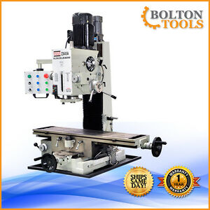 9 1 2 X 40 Bench Top Milling Machine 3 Axis Power Feed Zx45a Free Shipping