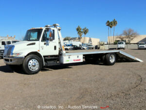 2008 International 4300 Sba S a Tow Truck Hydraulic Dove Tail Ez loader Diesel
