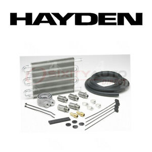 Hayden Oil Cooler For 2001 Honda Prelude 2 2l L4 Engine Cooling System Os