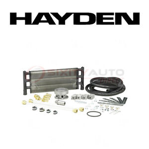 Hayden Oil Cooler For 2008 2011 Chevrolet Silverado 3500 Hd 6 6l V8 Engine Qk