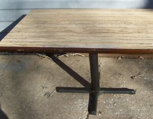Restaurant Equipment 29 Standard Height Table Top With Base 42 X 29 Brown