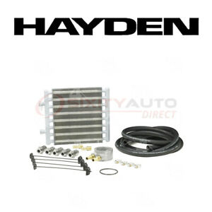 Hayden Oil Cooler For 2004 2010 Nissan Titan 5 6l V8 Engine Cooling System Ua