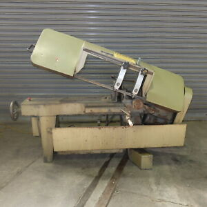 Kalamazoo Horizontal Band Saw Model H9aw Single Phase