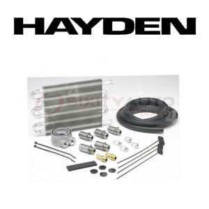 Hayden Oil Cooler For 1998 2008 Ford Mustang 4 6l 5 4l V8 Engine Cooling Vf