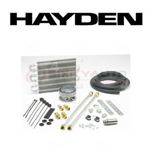 Hayden Oil Cooler For 2008 2011 Chevrolet Silverado 3500 Hd 6 6l V8 Engine Bp