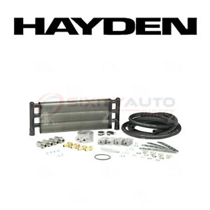 Hayden Oil Cooler For 2009 2010 Dodge Challenger 3 5l V6 Engine Cooling Cc