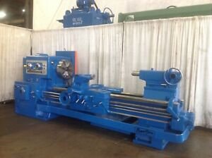 32 X 72 Lodge Shipley Gap Bed Engine Lathe Yoder 66199