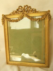 Large Bronze French Gold Dore Picture Frame Exc Quality