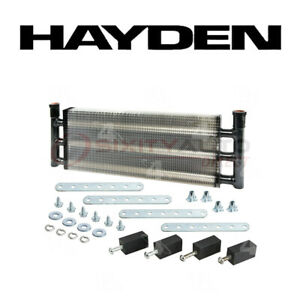 Hayden 1240 Oil Cooler For Engine Cooling System Fx