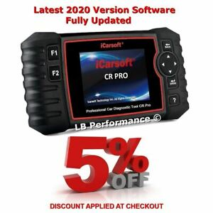 Icarsoft Cr Pro Diagnostic Scan Tool Full System All Makes 2020 Extra Features