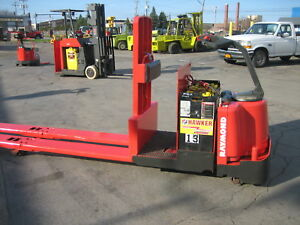 2000 Raymond Forklift 113 Ride On Jack Center Rider 8000 Cap