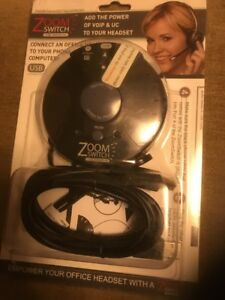 Zoom Switch Zms20 uc Phone Headset Accessory Network Device New Sealed