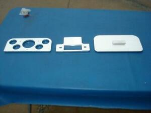 1937 1938 Ford Complete Dash Aluminum Insert Springfield Street Rods Nice