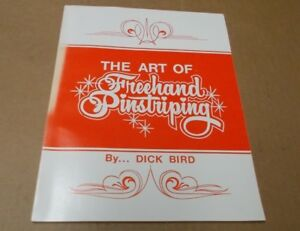 Art Of Freehand Pinstriping Dick Bird Trucks Lettering Vehicle Motorcycle