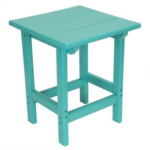 New Outer Banks Poly Lumber 18 Square Side Table