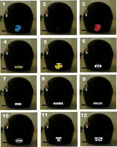 Marines Asst Reflective Graphics 2 For 1 Choose Your Size Styles Color