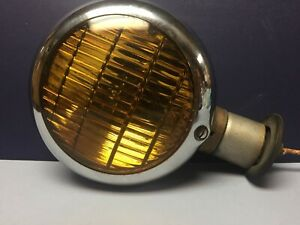 Early Vintage Fog Lamp Auto Light Hot Rat Rod