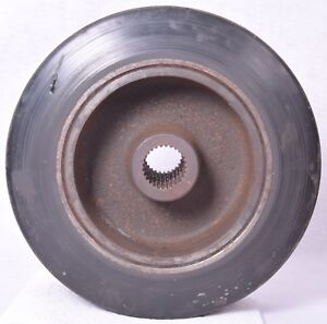 Indoor Forklift Solid Tire And Rim 12 5 Tall
