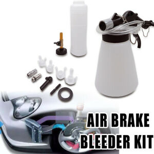 1 75l Pneumatic Brake Fluid Bleeder Kit Car Air Clutch Oil Bleeding Tool Car