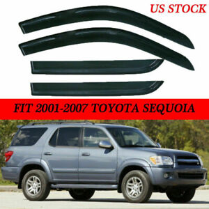 For Toyota Sequoia 2001 2006 2007 Car Outside Door Side Window Visor Rain Guard