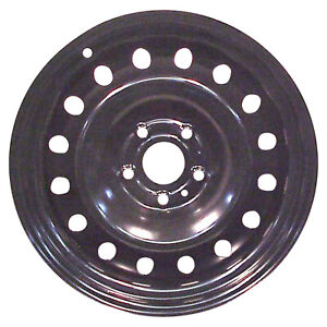 02166 Reconditioned Oem 20in Black Spare Steel Wheel Fits 2002 08 Dodge Ram 1500