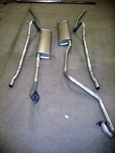 1949 1951 Mercury Hardtop Dual Conversion Aluminized Exhaust System