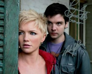 Primeval Hannah Spearritt & Andrew Lee Potts Signed Autographed 8