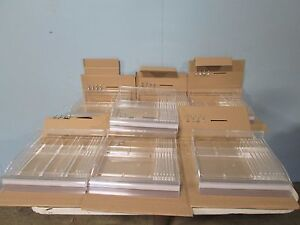 Bnib azar 7 Ct Acrylic Cosmetic Sliding Display Trays W u Hooks