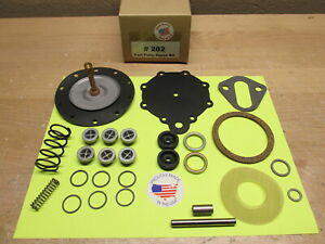 1955 1956 Hudson Hornet Wasp 6 Cyl Modern Double Action Fuel Pump Kit Ac 4057
